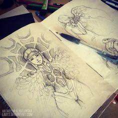 an_old_sketchbook. by Lady2.deviantart.com on @deviantART