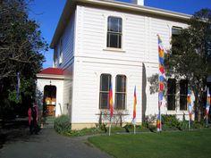 Katherine's birthplace on Tinakori Road, Wellington, New Zealand.