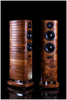 Acoustic Preference Gracioso 2.0. Damn, that design! Prestigious walnut wood amazingness.