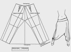 yo elijo coser: DIY: harem pants o pantalones aladdin