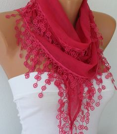 SALE Scarf on ETSY (13.50 USD) >> (Now 12.15 USD)  TODAY 10% OFF,  Coupon Code : PINTEREST