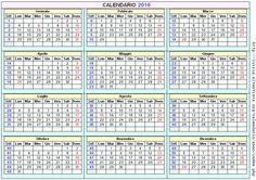 calendario 2016 da stampare - Cerca con Google
