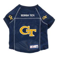 Georgia Tech Yellow Jackets Little Earth Pet Football Jersey - XS 5a0ac3cd4