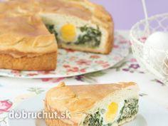 Zelený veľkonočný koláč
