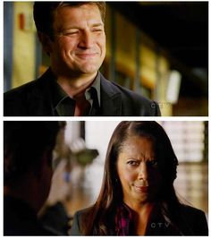 Castle and Captain Gates. Their relationship in a picture