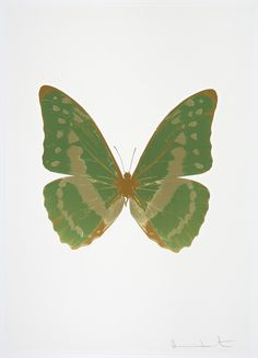 Damien Hirst, 'The Souls III - Leaf Green/Cool Gold/European Gold,' 2010, Paul Stolper Gallery