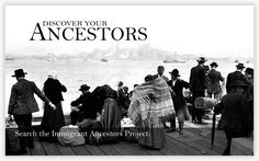 The Immigrant Ancestors Project, sponsored by the Center for Family History and Genealogy at Brigham Young University
