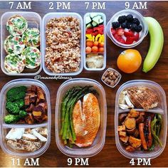Textbook meal prep by @marekfitness keeping him total control. - Duplicate and customize this prep for you with @mealplanmagic and to adjust each component to fit your macros and intake levels. - ALL-IN-ONE TOOL & GUIDES - Build Custom Plans & Set Nutrition Goals BMR BMI & Max Rate Calculator Learn Your Macros by Body Type & Goal Grocery Lists Automated to Weekly Needs Accurate Cooking and Prep Summaries Combine & Export Data for Two Plans Track Your Progress & Daily Allowance Food Lists