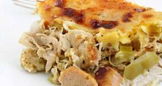 Receita de Torta de liquidificador de frango e linguiça - Tasty Demais
