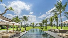 A rural rice terrace setting, features breathtaking panoramic views, with the shadow of a distant volcano setting the perfect Balinese backdrop for a truly relaxing vacation at KABA KABA ESTATE BALI .http://www.theluxurylisting.com/kaba-kaba-estate-bali/