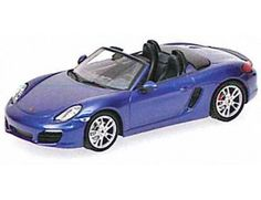 The Minichamps 1/43 Porsche Boxster 981 2012 Metallic Blue is a superbly detailed diecast car in the 1/43 scale diecast car collection. Discounts available on all Minichamps products at Wonderland Models.