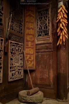 龚滩古镇与冉家院子 Ancient architecture. China mood
