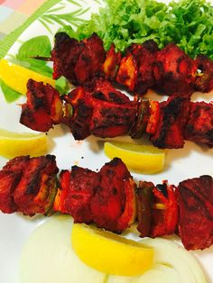 Curry And Spice Grilled Fish Tikka