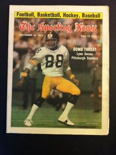 Lynn Swann Pittsburgh Steelers | Lynn Swann Pittsburgh Steelers Publications