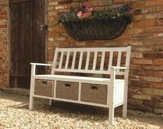 The norfolk leisure anvers acacia wood storage bench