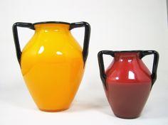 "Loetz Tango Mandarin yellow ca. 1920 6 3/4"" | Collectors Weekly"