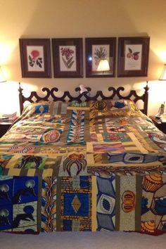 My African quilt.