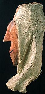 Yurupari Mask Ticuna people, Amazon