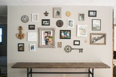 North Country Nest shares their take on how to hang a gallery wall in five steps. Decor, House, Gallery, Gallery Wall, New Homes, Wall, Home Decor, Hanging