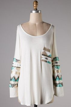 Glam in Sequins Pocket Tunic Top – Texas Two Boutique