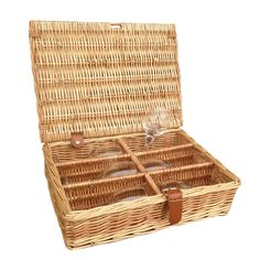 The best 6 Glasses Picnic Basket are selling out fast http://redhamper.co.uk/6-glasses-picnic-basket/  #drinksbaskets #shoppingbaskets