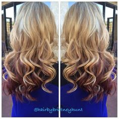 Perfect Blended Highlights And Lowlights Hair And Makeup | Dark Brown ...