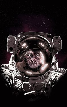 Serious Apes In Space   (Albert by Spykee *)