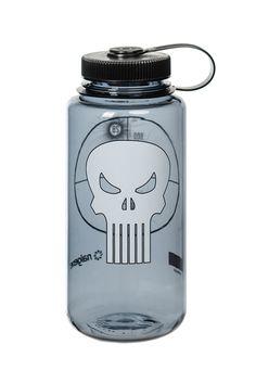 04a44c1a78 32oz Wide Mouth - Nalgene Punisher Marvel Collection Punisher Marvel, Captain  America, Iron Man