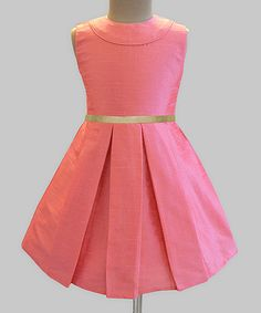 Take a look at this A.T.U.N. Rouge Classic Audrey Dress - Infant, Toddler & Girls today!