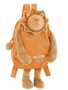 Moulin Roty Les Zazous Lion Plush Backpack - Most Wanted Christmas Toys Animal Backpacks, Boys Backpacks, Lion, Toddler Backpack, How To Make Toys, Kids Store, Designer Toys, Le Moulin, Christmas Toys