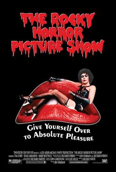 The Rocky Horror Picture Show (1975). this film always confuses me. but i still love it!