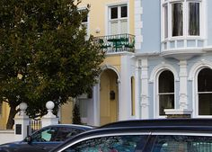 House on Regent's Park Road, London UK.