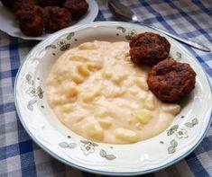 Sonkás-sajtos rakott csirkemell Recept képpel - Mindmegette.hu - Receptek Hungarian Recipes, Pie Recipes, Eating Well, Cheeseburger Chowder, Mashed Potatoes, Food And Drink, Soup, Lunch, Vegan