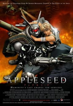 Appleseed Anime: usually my husband's choice