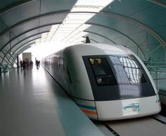 Chinese technology has a lot of weird subways that are extremely fast.