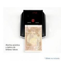 Contadinero Detectalia y detector motorizado de billetes falsos  PRECIO: 88.95€  ¡Búscalo en Acuista App!
