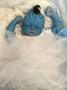 "REBORN DOLL FANTASY BABY REALISTIC AVATAR HYBRID ROOTED HAIR 22"" NEWBORN"