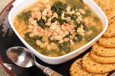 3- ingredient White Bean Kale and Sausage Stew Recipe