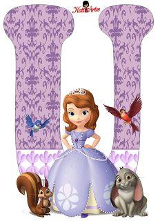 EUGENIA - KATIA ARTES - BLOG DE LETRAS PERSONALIZADAS E ALGUMAS COISINHAS: Princesa Sophia 1
