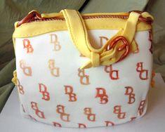 dooney & burke purse cake   Dooney and Bourke Bag Cake   Artisan Cake Company