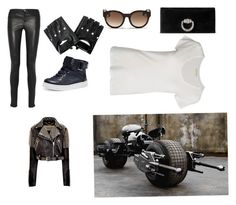 Leather outfit4 by alysah-arthur on Polyvore featuring polyvore, fashion, style, American Vintage, Burberry and Gucci