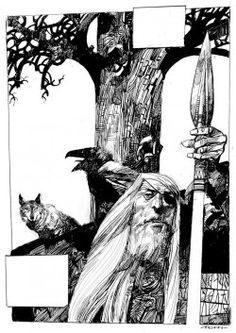 Sergio Toppi Toppi was an Italian comic book artist known for his beautiful imagery and masterful ink work. Art And Illustration, Illustrations And Posters, Comic Book Artists, Comic Artist, Comic Books Art, Walton Ford, Storyboard, Graphic Novel Art, Comic Layout