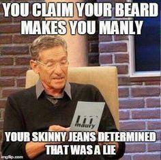 Men, stop wearing skinny jeans!