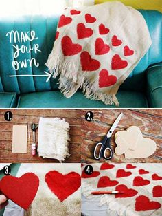 """With the year's sweetestday just around the corner we are happy to present you these creative Do-It-Yourself Valentines gifts and cards. Take a look at these 25 diy Valentine Day gift and card ideas, we found like interesting and easy to make. Maybe you are also interested in our """"Top 35 Easy Heart-Shaped DIY Crafts […]"""