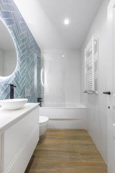 Beach House Bathroom, Narrow Bathroom, Downstairs Bathroom, Bathroom Renos, Bathroom Design Small, Bathroom Interior Design, Bathroom Renovations, Modern Bathroom, Bad Inspiration
