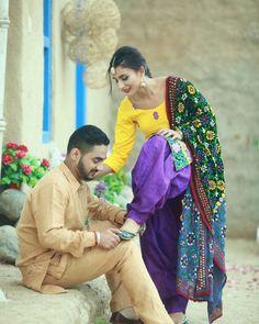 @Guri #couplephotography #punjabi #couple #photography Punjabi Wedding Couple, Punjabi Couple, Wedding Couples, Cute Couples, Punjabi Girls, Punjabi Suits, Couple Photography, Photography Poses, Wedding Photography