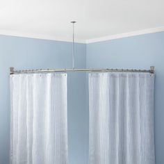neoangle shower rod and ceiling support