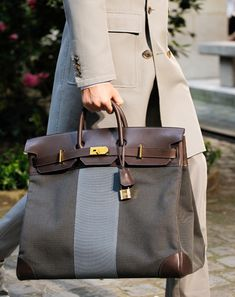 Hermès Spring 2013 Collection. I love this because it reminds me of a Mary Poppins bag.