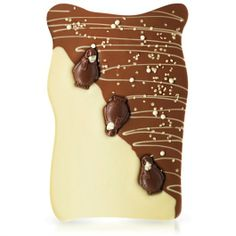 Delicious combination of cute penguins, white chocolate & caramel, mmmmmmm! 😀 A trio of snow-spattered penguins caught in a caramel and white chocolate blizzard on a chocolate-y Mont Blanc, our Mountain Mayhem Giant Slab isn't just for the kids. Best Chocolate Bars, Make Your Own Chocolate, Chocolate Stores, Luxury Chocolate, Artisan Chocolate, Chocolate Heaven, Chocolate Bark, Chocolate Gifts, Homemade Chocolate