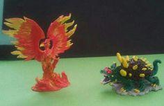 Fenix y dragon tortuga